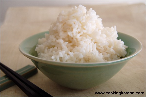 How to cook white rice perfectly [Hin-ssal-bab] « Cooking ...